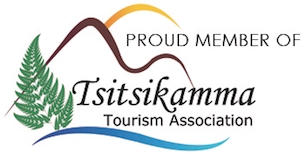 Proud member of the Tsitsikamma Tourist Association